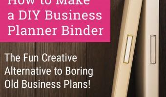 DIY Business Planner Binder Tutorial to Plan for Success!
