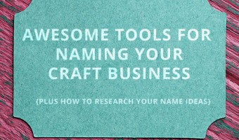How to Name Your Craft Business Using Online Business Name Generators