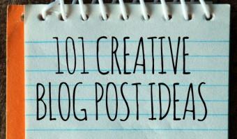 101 Creative Blog Post Ideas