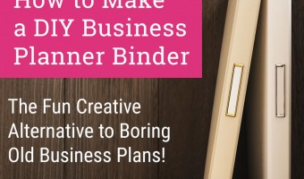 DIY Business Planner Binder Tutorial to Plan for Success!