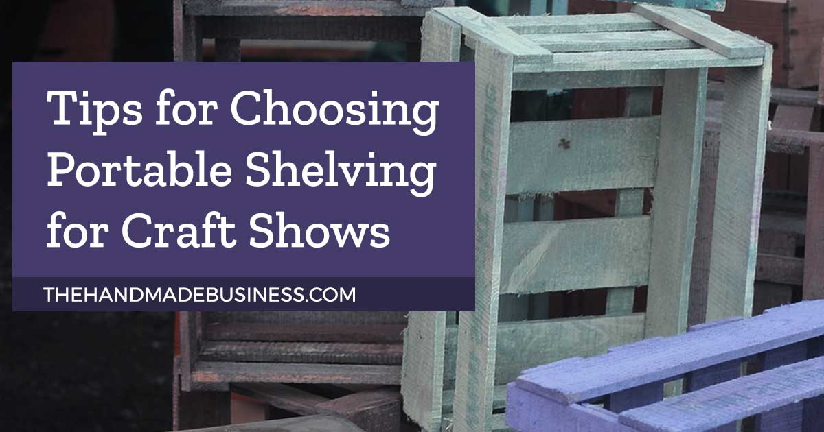Portable Shelving Units For Craft Shows